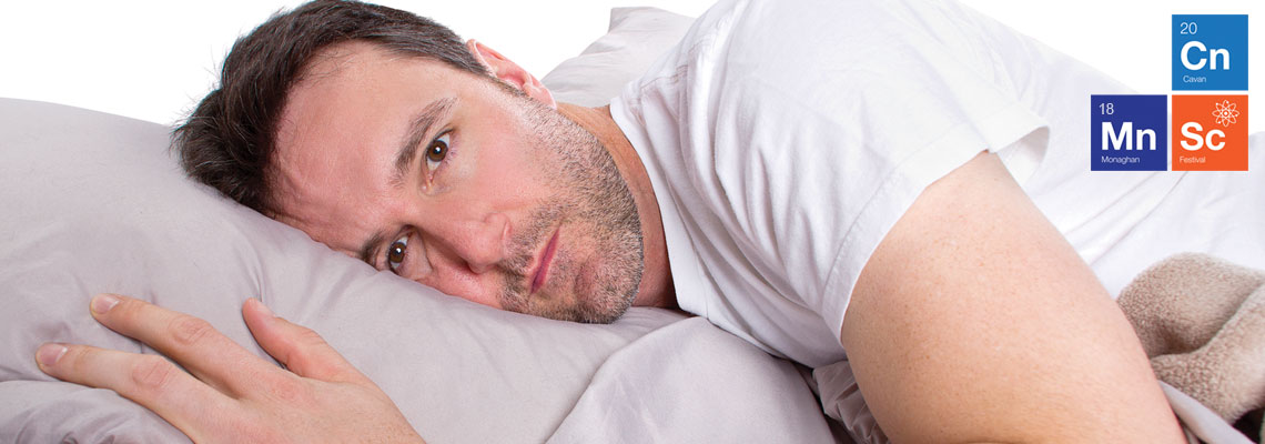 Are you having Problems Sleeping? Cootehill Library, Tuesday 20th Nov,  7pm
